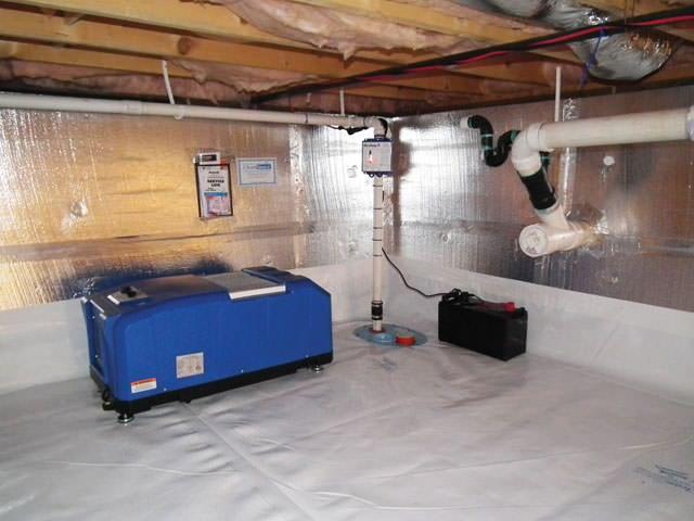 R paration de vide sanitaire au qu bec le cleanspace for Crawlspace to basement conversion cost